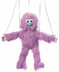 marionette purple monster string puppets skip