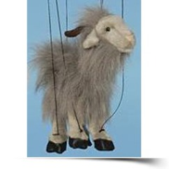 On Sale16 Grey Goat Marionette