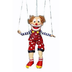 sunny puppets bald clown marionette string
