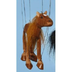 horse brown marionette each string puppets