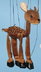 deer marionette mini version puppet itself