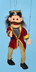 sunny puppets pirate marionette each puppet