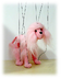 pink poodle marionette operating very easy