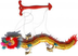 educational chinese festival dragon puppet yellow