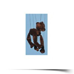 On SaleBear brown Bear Small Marionette