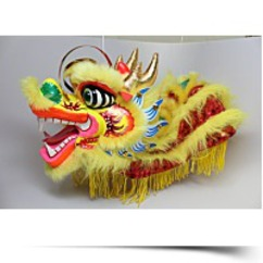 Chinese Lion Dragon Marionette Puppet