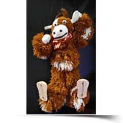 Cow Marionette Puppet CO21