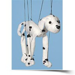 Save Dog dalmatian Small Marionette