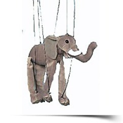 Save Elephant 16 Marionette