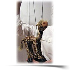 Giraffe 18 Animal Marionette