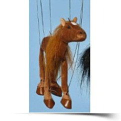 Save Horse brown Small Marionette