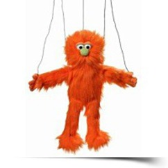Orange Silly Monster Marionette