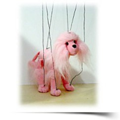 On SalePink Poodle 18 Marionette