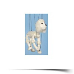 On SalePoodle white Small Marionette