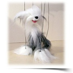 Sheep Dog Marionette