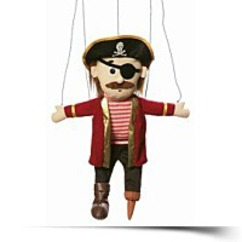 On SaleSilly Pirate Marionette