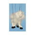 farm animal white goat marionette each