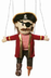 silly pirate marionette string puppets skip