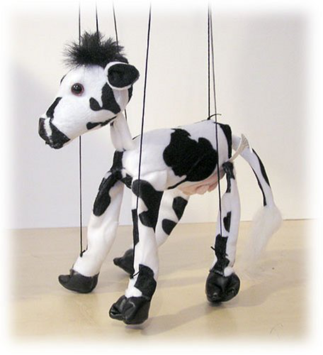 Cow 18 Animal Marionette