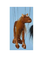 Horse brown Small Marionette